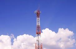 Torre de comunicação Imagem de Stock Royalty Free