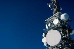 Torre de comunicação Imagens de Stock Royalty Free