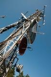 Torre de comunicação: G/M, Umts, 3G e rádio Fotos de Stock