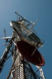 Torre de comunicação: G/M, Umts, 3G e rádio Fotos de Stock Royalty Free