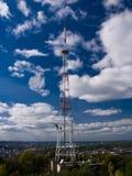 Torre de comunicações Imagens de Stock Royalty Free