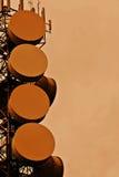 Torre de comunicações Fotografia de Stock