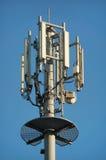 Torre de comunicación Foto de archivo libre de regalías