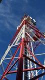 Torre de comunicación de la torre fotografía de archivo