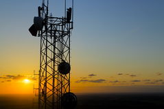 Torre de comunicación de Palouse, Washington. Imágenes de archivo libres de regalías