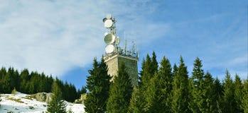 Torre de comunicación del G/M Foto de archivo