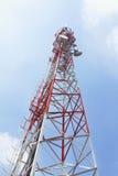 Torre de comunicación del teléfono móvil Imagen de archivo