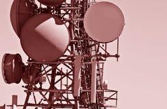 Torre de comunicación moderna Imagen de archivo libre de regalías