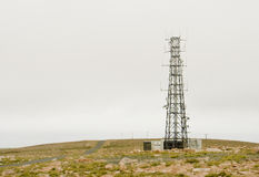 Torre de comunicaciones Imagenes de archivo