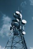 Torre de comunicaciones Fotografía de archivo libre de regalías