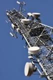 Torre de comunicaciones Fotos de archivo libres de regalías