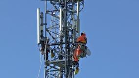 Torre de comunicaciones almacen de video