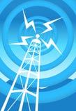 Torre de comunicaciones Fotos de archivo
