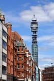 Torre de comunicaciones de Londres Fotos de archivo libres de regalías