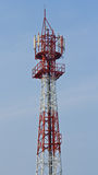 Torre de comunicaciones en Tailandia Fotografía de archivo