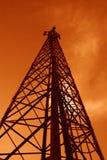 Torre de comunicação Fotos de Stock Royalty Free