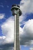 Torre de control del aeropuerto Imagen de archivo libre de regalías