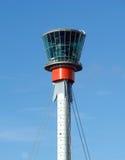 Torre de control en LHR. imagen de archivo