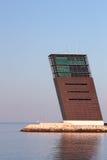 Torre de controlo no rio Tagus Fotos de Stock Royalty Free