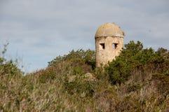 Torre de controlo velha imagem de stock