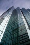 Torre de cristal Fotos de archivo libres de regalías