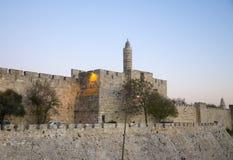 Torre de David Fotografia de Stock