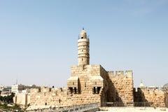 Torre de David imagens de stock