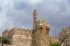 A torre de David, Jerusalém Foto de Stock
