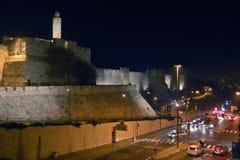 Torre de David, Jerusalén Fotos de archivo