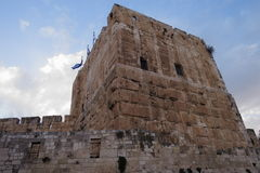 Torre de David - Jerusalén - Israel Foto de archivo