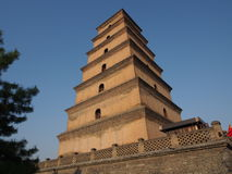 Torre de Dayan em Xi'an Fotografia de Stock Royalty Free