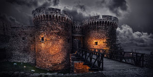 Torre de Dizdar Imagem de Stock