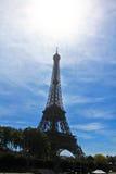 Torre de Eiffle Fotos de Stock