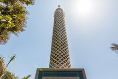 Torre de El Cairo fotografía de archivo libre de regalías
