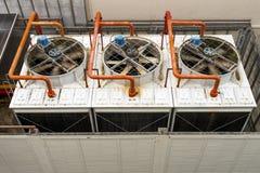 Torre de enfriamiento Imagen de archivo