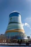 Torre de enfriamiento Foto de archivo