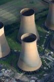 Torre de enfriamiento Foto de archivo libre de regalías