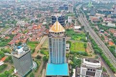Torre de ESQ, Jakarta sul, Indonésia fotos de stock