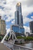 Torre de Eureka em Melbourne fotos de stock