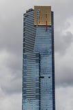 Torre de Eureka em Melbourne, sinal de Skydeck fotografia de stock royalty free