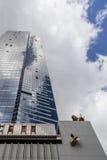 Torre de Eureka em Melbourne, sinal de Skydeck foto de stock