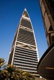 Torre de Faisaliah del AL Fotografía de archivo
