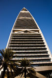 Torre de Faisaliah del AL Imagen de archivo libre de regalías