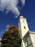 Torre de fogo em Poltava imagens de stock