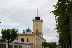 Torre de fuego de Gatchina Fotos de archivo