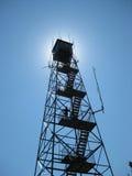 Torre de fuego en el Sun foto de archivo libre de regalías
