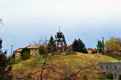 Torre de fuego en Helena Montana fotografía de archivo libre de regalías