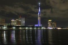 Torre de Fukuoka imagen de archivo libre de regalías