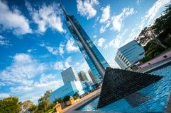 Torre de Fukuoka Imágenes de archivo libres de regalías