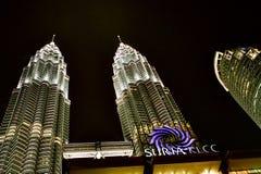 Torre de gêmeos de Kuala Lumpur Foto de Stock